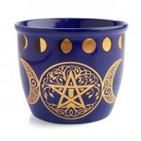Pentacle/Triple Moon Smudge Bowl