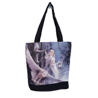 Midnight Messenger Tote Bag