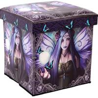 Mystic Aura Storage Stool