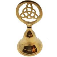 Triquetra Brass Bell