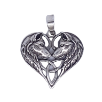 Wolves Heart - Silver