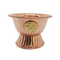 Copper Pentacle Bowl