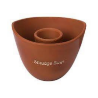 Clay Smudge Bowl